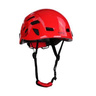 Dhaulagiri Rock Climbing Helmet TUPA Peralatan Hiking & Camping - Red