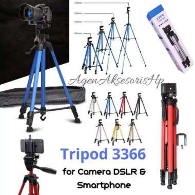 harga GRATIS ONGKIR TRIPOD 3366 Tripod Stand for Smartphone Camera DSLR Portable Phone Liv Blibli.com
