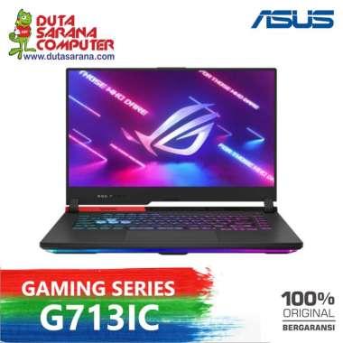 harga Laptop Gaming Asus ROG Strix G713IC - R735B6T-O AMD R7-4800H 8GB 512GB SSD RTX3050 4GB 17.3