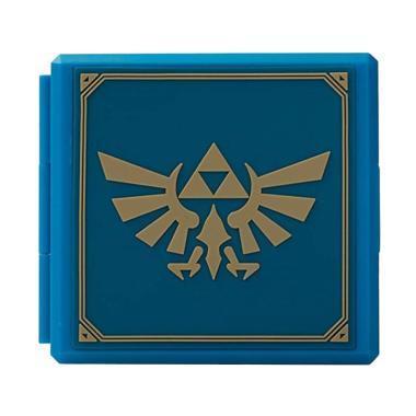Nintendo Switch Zelda Hylian Crest Premium Game Card Case - Biru