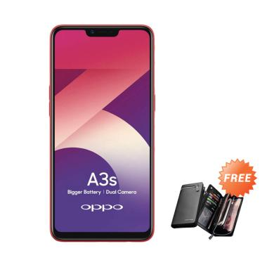 Oppo A3S Smartphone [32GB/3GB] + Free Dompet