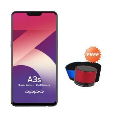 OPPO A3S Smartphone + Free Speaker Bluetooth