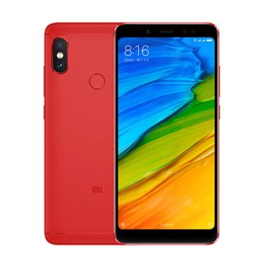 Xiaomi Redmi Note 5 AI Smartphone - Lava Red [64GB/ 4GB] Box Orange