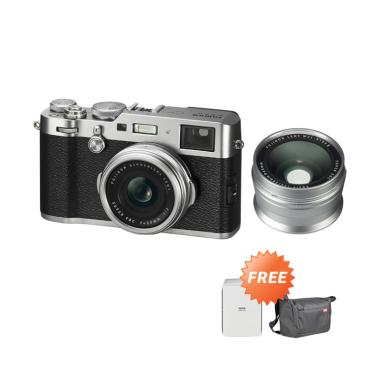 Fuji X100F Kamera Mirrorless with W ... -W126S*+Charger BC-W126S*