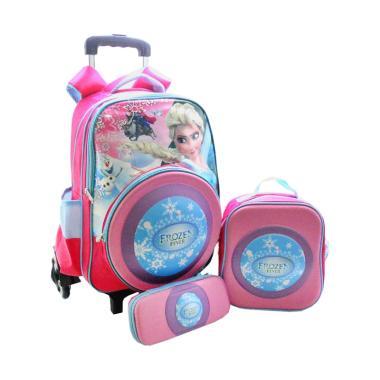 DJ Fashion 0622-2 3in1 Frozen Tas Sekolah Anak