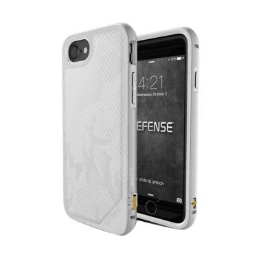 X-doria Defense Lux Casing for iPhone 8 Plus or 7 Plus - White Camo