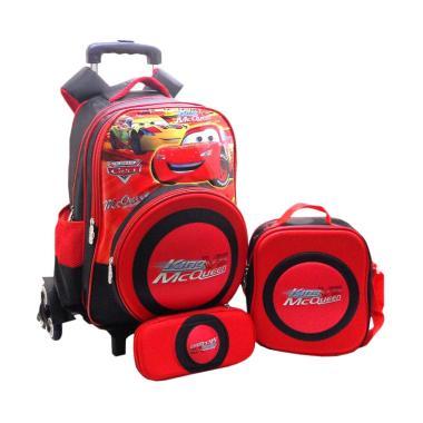 DJ Fashion 0664 Car 3in1 Tas Sekolah Anak