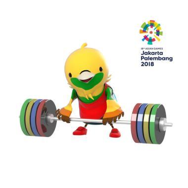 Asian Games 2018 Weightlifting E-Ti ... IExpo Kemayoran - Hall A]