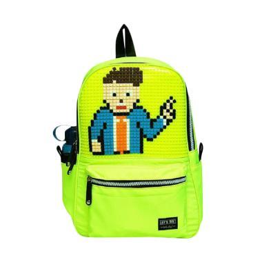 SHWJ B666 Backpask Tas Sekolah Anak - Green