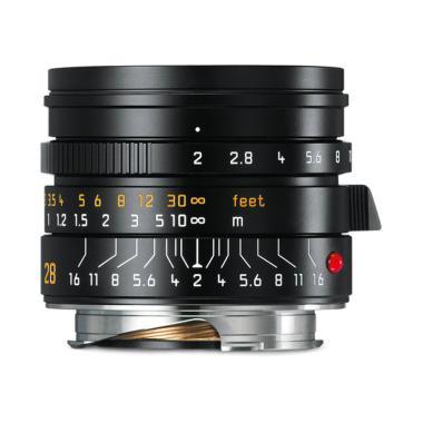 Leica 11672 Summicron-M 28mm f/2 ASPH Lens with Aluminum Hood