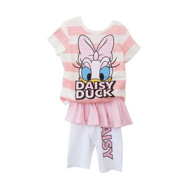 GBS Stripe Daisy Setelan Baju Anak Perempuan