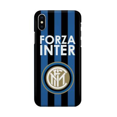 APPLE IPHONE 5 5S CUSTOM HARD CASE. Indocustomcase Forza Inter Milan Cover .