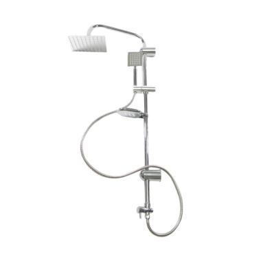 OEM Tiang Stainless Set Shower Mandi [Full Set]