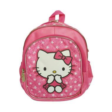 Hello Kitty Playgroup Tas Sekolah Anak Perempuan