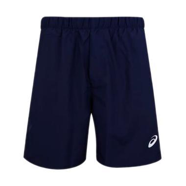 Asics Mens Tennis Short Pants Celana Olahraga Pria - Blue