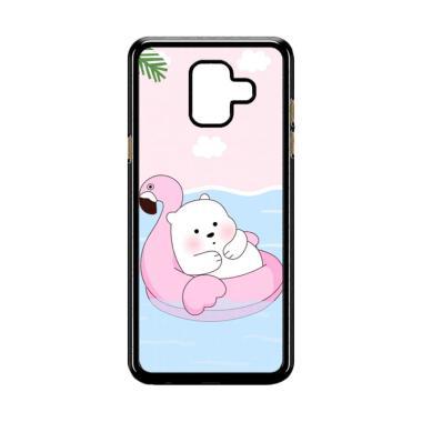 harga Bunnycase Cute Polar Bear Summer LI0215 Custom Hardcase Casing for Samsung Galaxy A6 Blibli.com
