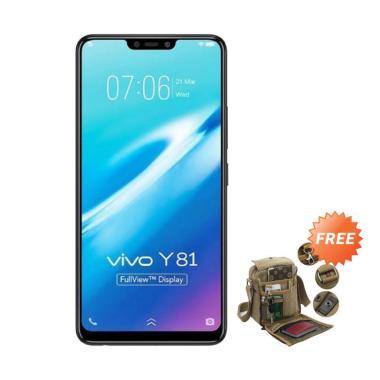 harga VIVO Y81 Smartphone - Black [16GB/ 3GB] + Free Tas Slempang Blibli.com