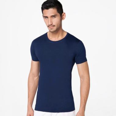 VM Polos Spandek Stretch Pendek T-Shirt Pria