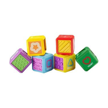 Fisher Price Laugh & Learn First Shape Blocks Mainan Bayi