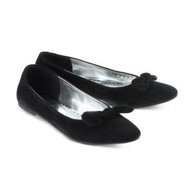 harga Golfer AJ03 Sepatu Flat Wanita - Black Blibli.com