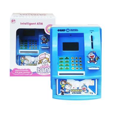 harga Baby Wish 6301 ATM Bank Doraemon Celengan Mainan Edukasi Anak - Biru Blibli.com
