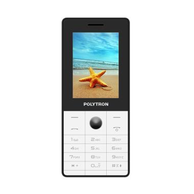 harga POLYTRON C24G Dual SIM [Camera With Flash] Radio FM MP3 Display 2,4 Inch Candybar Handphone Garansi Resmi Blibli.com