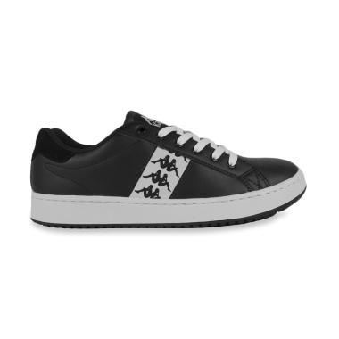 Kappa Dominic 1 Sneaker Shoes Pria - Black White ...