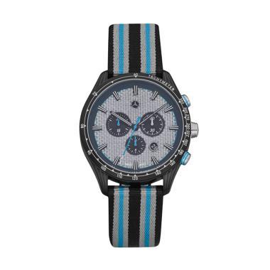 harga Mercedes-Benz Chrono Motorsport Jam Tangan Pria - Black/Blue [Original] Blibli.com