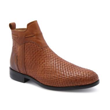 Jual Sepatu Boots Pria Zipper Terbaru - Harga Murah  e0fb59b2c2