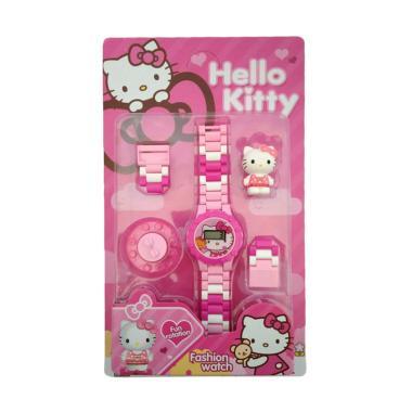 Hello Kitty 1030040222 Lego Jam Tangan Anak Perempuan
