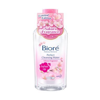 Biore Make Up Remover Cleansing Water Soften Up Sakura [300 mL]
