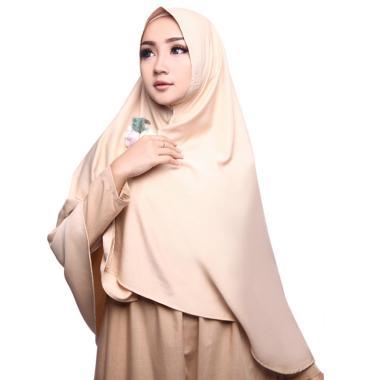 harga Cotton Bee Khimar Farhanah Syar'i Jilbab Instan Blibli.com