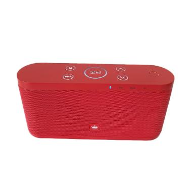 harga Kingone K9 Speaker Portable Bluetooth Super Bass with Touch Control Merah Blibli.com