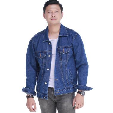 910 Contoh Model Jaket Jeans Pria HD Terbaru