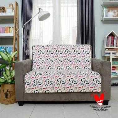 Stiletto Living Marbels Cover Sofa - Merah