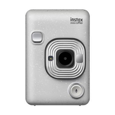 harga Fujifilm Instax Mini LiPlay Instant Kamera Free Shoulder Strap + 1 motif paper + 2pc paper stained glass - Braga Photo Video Blibli.com