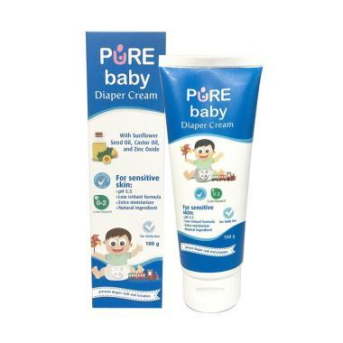 harga Pure Baby Diapers Cream [100 g] Blibli.com