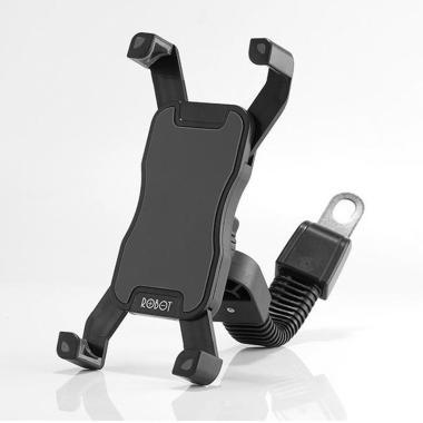 harga ROBOT RT-MH02 Motor Cycle Retractable Phone Holder Blibli.com