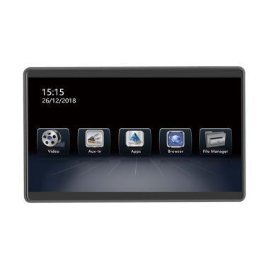 harga MTECH On Clip Headrest Monitor [12.5 Inch/ Android/ 4K Full HD] Blibli.com