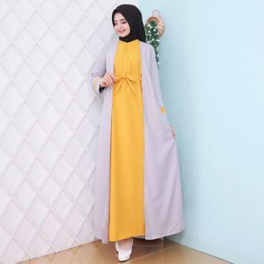 Jual Hitjab 9991 Polos Aksesoris Baju Gamis Wanita Murah Maret 2020 Blibli Com