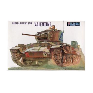 Fujimi British Infantry Tank Valentine Model Kit [1 : 76]