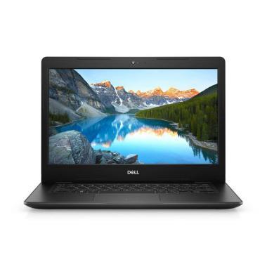 harga DELL Inspiron 14-3480 Loki Notebook - Black [Celeron N4205/ HDD 500GB / 4GB DDR4 / Win 10 / 14 Inch HD / No ODD] Blibli.com