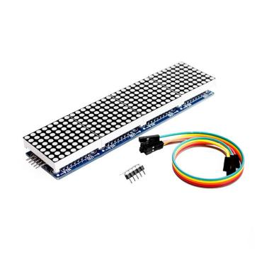 harga Bluelans MAX7219 Microcontroller 4 in 1 Display 5P Line Module for Arduino Dot Matrix Blibli.com