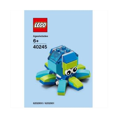 LEGO Polybag 40245 Monthly  Mini Model : Octopus Blocks & Stacking Toys