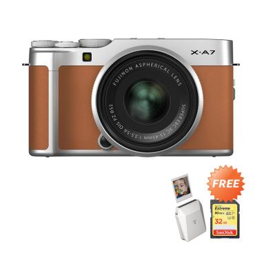 Pre Order - Fujifilm X-A7 Kit XC 15-45mm Kamera Mirrorless