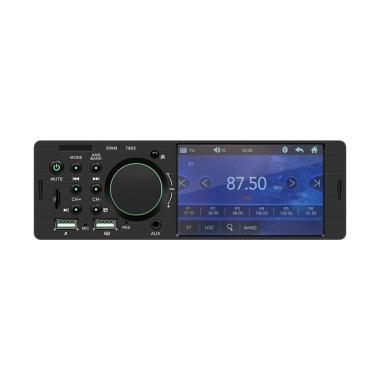 harga Bluelans 7805 Single Din Car FM Radio Bluetooth USB AUX Stereo Video MP5 Player [ 4.1 Inch/ No Camera] Blibli.com