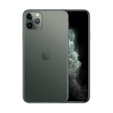 Apple iPhone 11 Pro Max 256 GB Smartphone - Midnight Green [Singapore set/ Dual Sim Nano + eSim]
