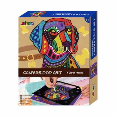 harga Avenir Dog 1340 Canvas Pop Art Blibli.com