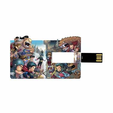 BUMILANGIT KOMIK & MERCHANDISE Patriot Cilik Card Costume USB Flashdisk