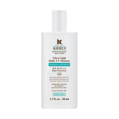 harga Kiehl's KIEHLS Ultra Light Daily UV Defense Mineral Sunscreen Sunblock / Original KHIELS Blibli.com